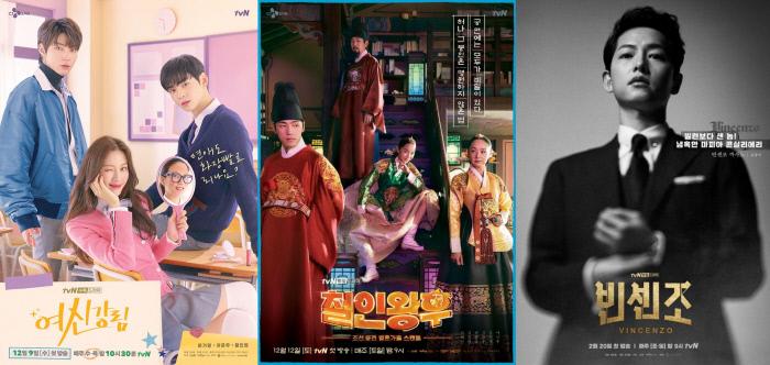 국내 드라마 제작사 스튜디오 드래곤은 올 상반기 '경이로운 소문' '철인왕후''여신강림' '빈센조' 를 중국 최대 OTT 기업 아이치이와 방영권 계약을 맺었다.